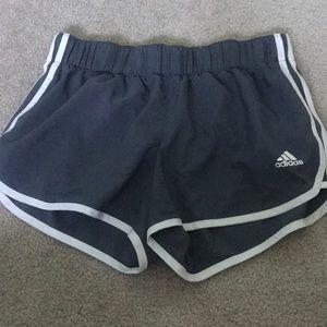 Gray Adidas Athletic Shorts